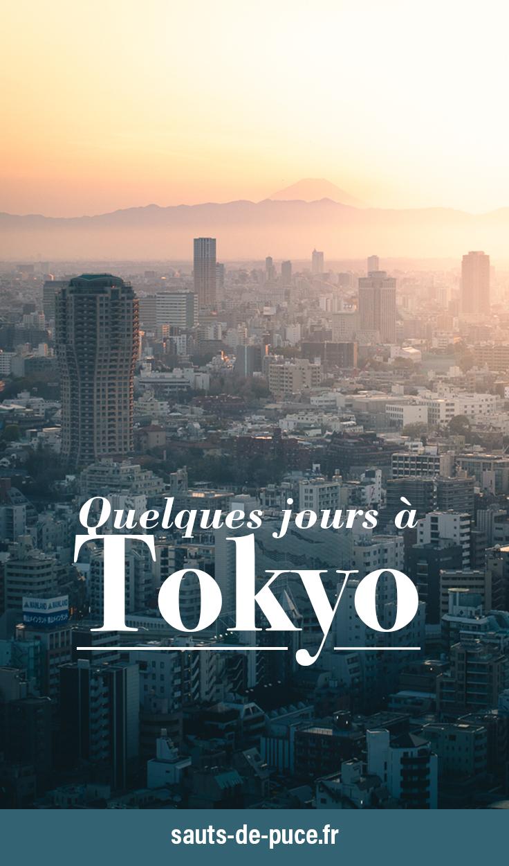 Quelques jours à Tokyo