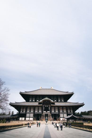Daibutsu-Den dans le Todai-ji
