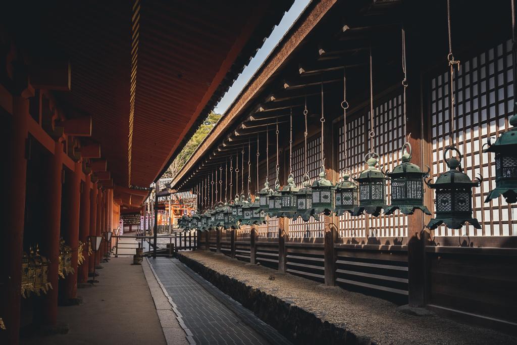 Lanternes du Kasuga Taisha
